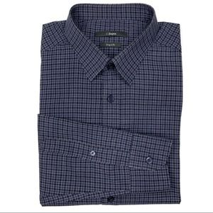 Ermenegildo Zegna Drop 8 Fit Gingham Button Down